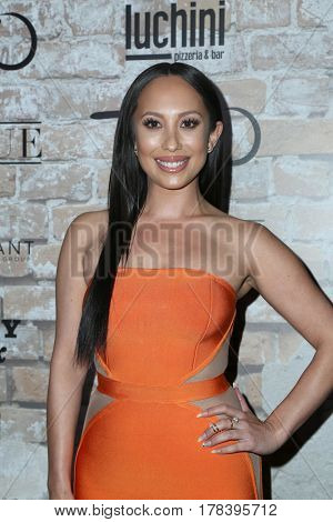 LOS ANGELES - MAR 16:  Cheryl Burke at the TAO, Beauty & Essex, Avenue and Luchini Grand Opening at the Selma Avennue on March 16, 2017 in Los Angeles, CA