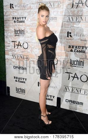 LOS ANGELES - MAR 16:  Charlotte McKinney at the TAO, Beauty & Essex, Avenue and Luchini Grand Opening at the Selma Avennue on March 16, 2017 in Los Angeles, CA