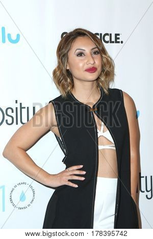 LOS ANGELES - MAR 21:  Francia Raisa at the Generosity.org Fundraiser For World Water Day at the Montage Hotel on March 21, 2017 in Beverly Hills, CA