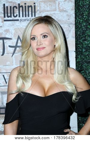 LOS ANGELES - MAR 16:  Holly Madison at the TAO, Beauty & Essex, Avenue and Luchini Grand Opening at the Selma Avennue on March 16, 2017 in Los Angeles, CA