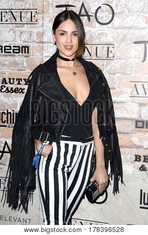 LOS ANGELES - MAR 16:  Eiza Gonzalez at the TAO, Beauty & Essex, Avenue and Luchini Grand Opening at the Selma Avennue on March 16, 2017 in Los Angeles, CA