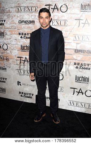 LOS ANGELES - MAR 16:  Wilmer Valderrama at the TAO, Beauty & Essex, Avenue and Luchini Grand Opening at the Selma Avennue on March 16, 2017 in Los Angeles, CA