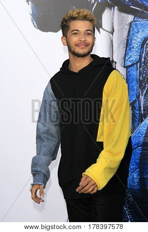LOS ANGELES - MAR 22:  Jordan Fisher at the Lionsgate's