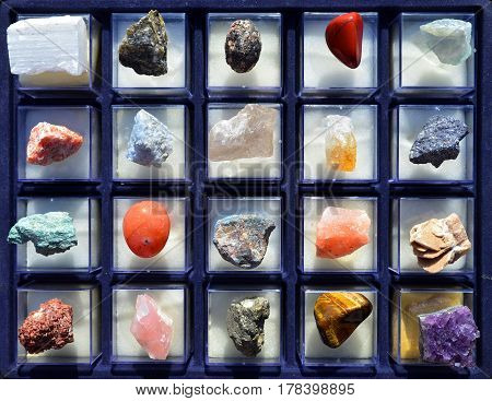 semiprecious stones texture gem geology collection background