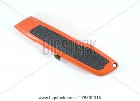 Orange Box Cutter
