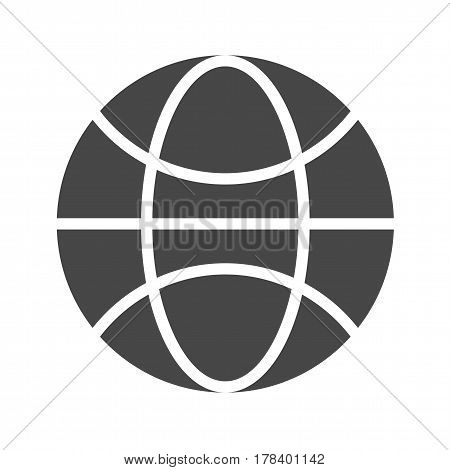 Globe Flat Vector Icon. Flat icon isolated on the white background. Editable EPS file. Vector illustration.