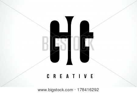 Gg G G White Letter Logo Design With Black Square.