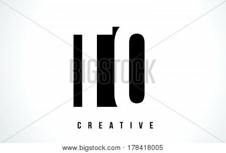 Tq T Q White Letter Logo Design With Black Square.