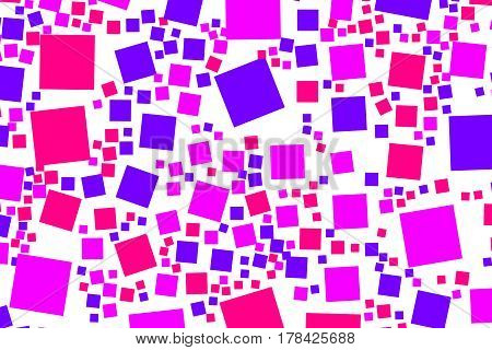 Abstract Background With Flat Blocks. Pattern For Cleaning Concept.