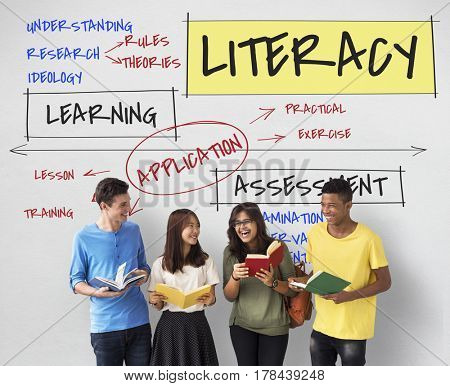 Education Literacy Concept
