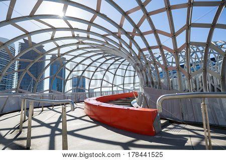 Webb Bridge in Melbourne, Victoria, Australia
