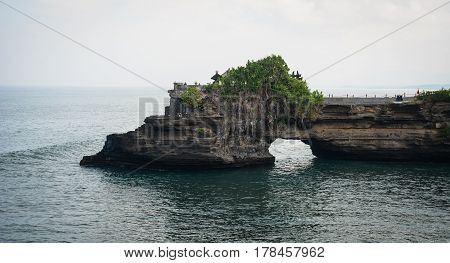 Cliff And Sea Along The Coast Of Bali, Indonesia