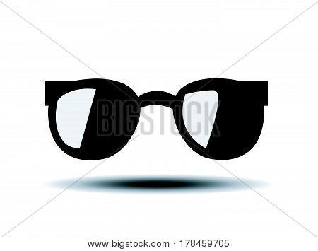 trendy sunglas vector illustration on white background