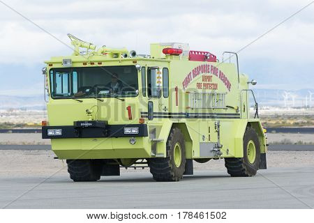 Airport Fire Rescue On Display