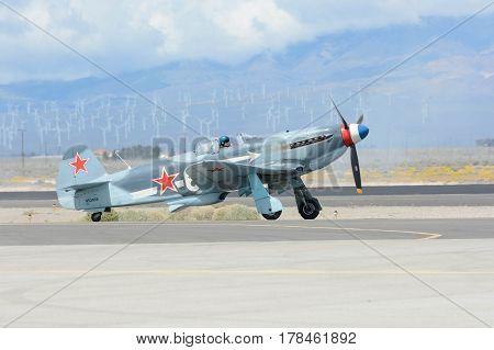 Yakovlev Yak-3 On Display