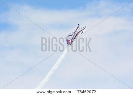 Bill Stein Is Flying An A Zivko Edge 540