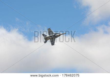 U.s. Navy Tac Demo - F/a-18F Super Hornet