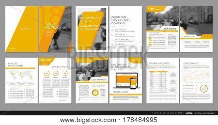 Design annual report, vector template brochures, flyers, presentations, leaflet, magazine a4 size. Minimalistic design background