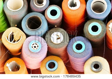 Close up threads