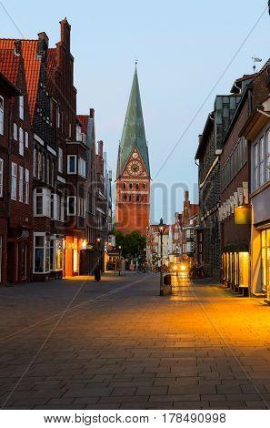 street view of Luneburg, Germany