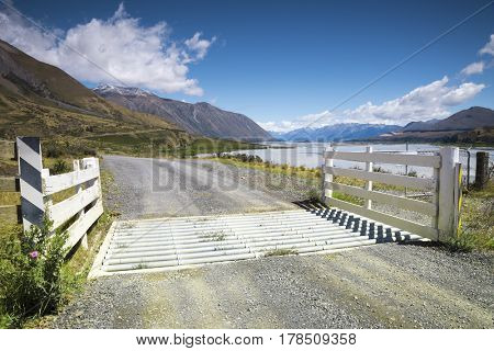 An image of a beautiful landscape in the south part of New Zealand