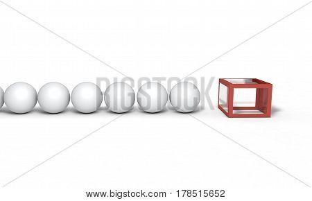 Background Of Voting Concept, 3D Render