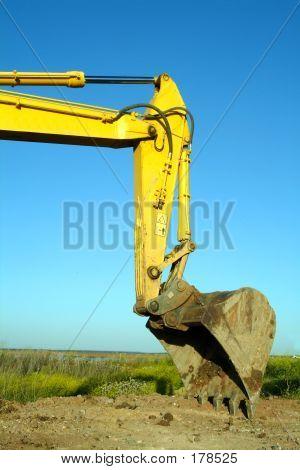 Excavator, Backfiller