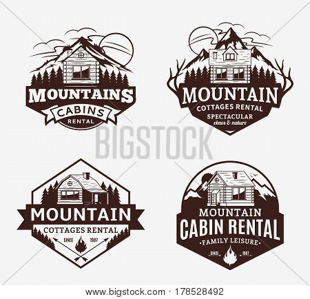 Mountain Recreation And Cabin Rentals Logo