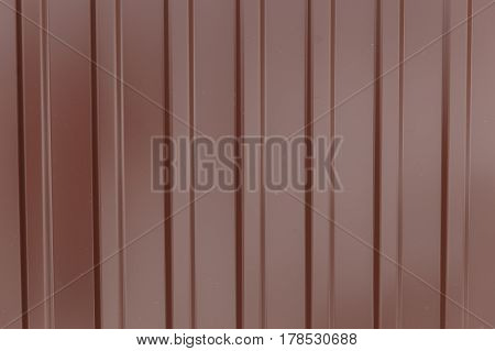 White Corrugated Metal Texture Surface Or Galvanize Steel Background.
