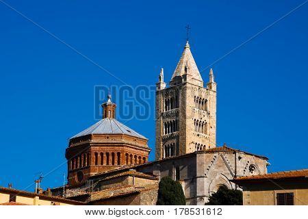 Massa Marittima is an old town in Tuscany Italy