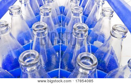 Water Bottles Are Stored In The Bottle Used