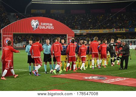 Romania Vs Denmark Fifa World Cup Qualifiers Match