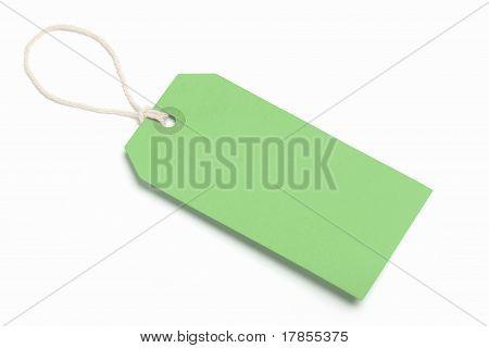 Green Tag Blank