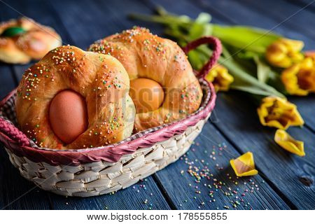 Italian Easter Bread Rings