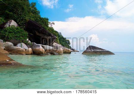 Blue Seascape Heaven Horizon