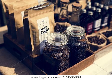 Begin a new day with organic coffee product