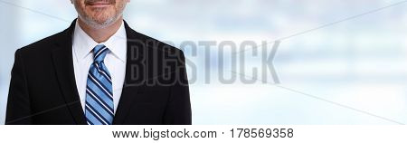 Businessman with tie