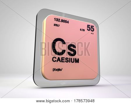 caesium, periodic, table, element, education, school, science, laboratory, chemistry, formula, atom, atomic, elements, technology, power, study, weight, measurement, scientist, mass, substance, nuclear, molecules, mendeleev, einstein, density, symbol, sig poster