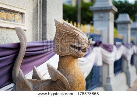 Thai Buddhism Demon