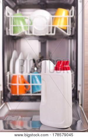 Dish Washing Powder In Bottle