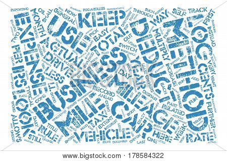 How To Drive The Irs Crazy Word Cloud Concept Text Background