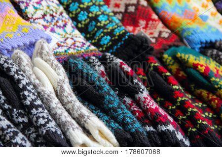 Bunch Of Woolen Socks