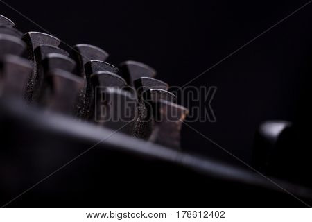 Stern Jury Made Of Musical Instrument's Keys