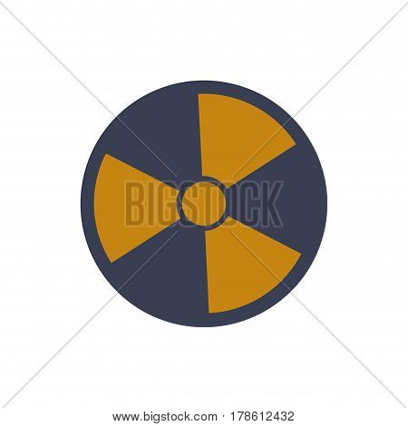Nuclear bomb weapon vector illustration graphic design