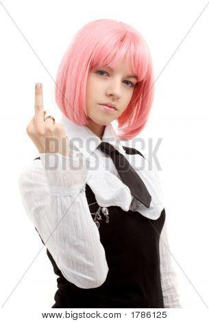 Offencive Schoolgirl