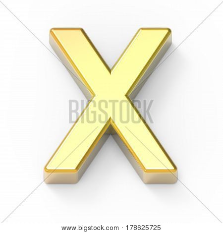 Matte Gold Font X