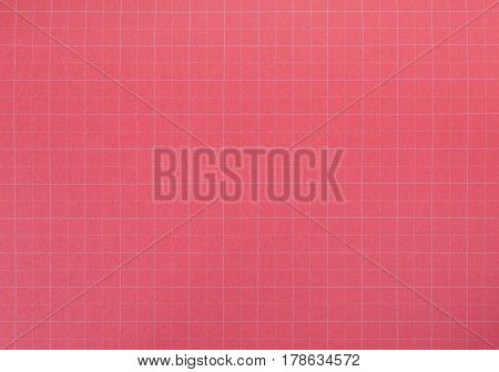 Blank red paper texture and background seamless