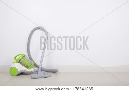 vacuum cleaner for cleaning on the floor