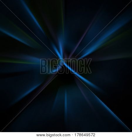 Abstract dark background of lines and shapes