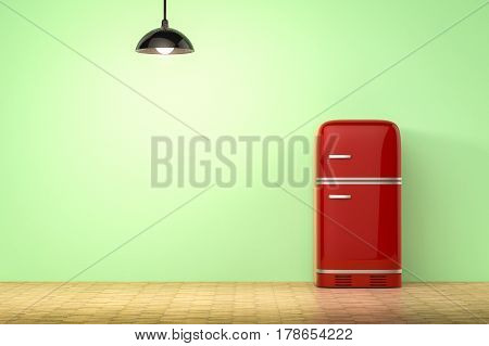 Retro Design Fridge